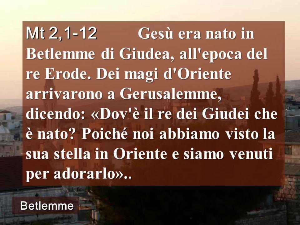 Seguiamo la STELLA di Betlemme? Piazza della Basilica di Betlemme