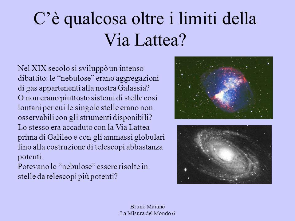 Cè qualcosa oltre i limiti della Via Lattea.