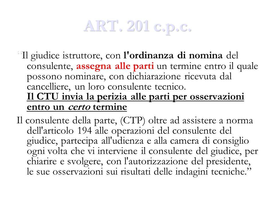 ART.201 c.p.c.