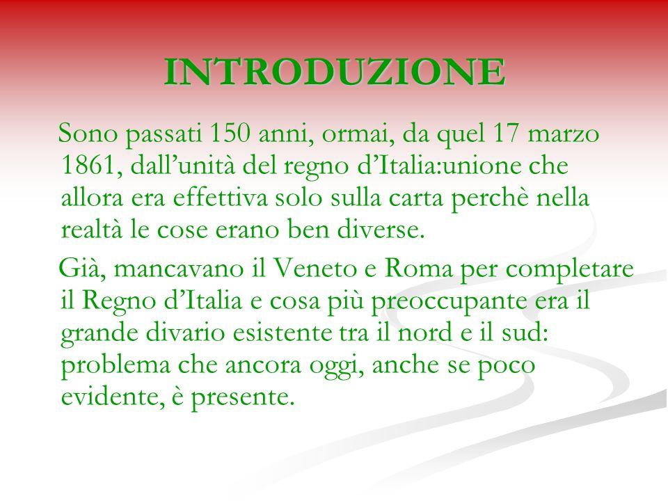 PERCHE ESISTE DIVERGENZA TRA NORD E SUD ITALIA?