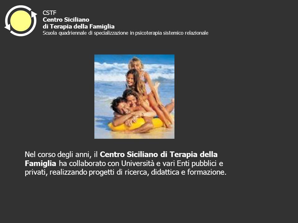Nel corso degli anni, il Centro Siciliano di Terapia della Famiglia ha collaborato con Università e vari Enti pubblici e privati, realizzando progetti