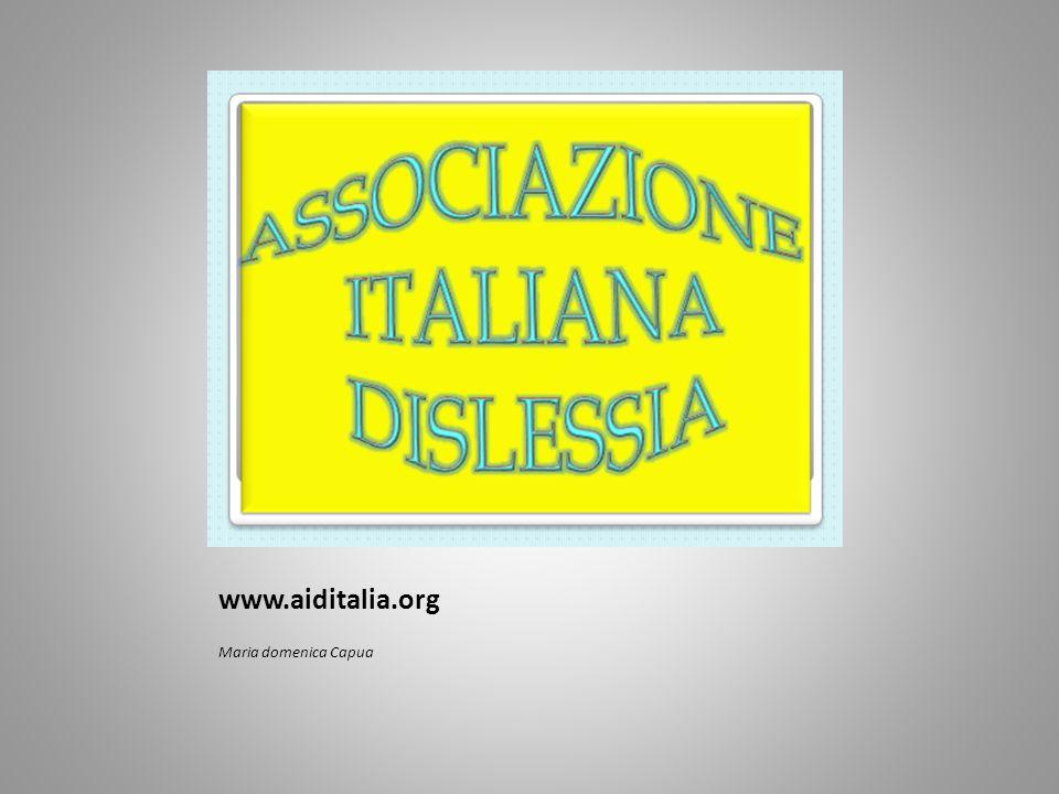 www.aiditalia.org Maria domenica Capua