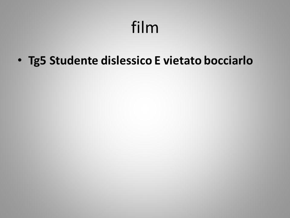 film Tg5 Studente dislessico E vietato bocciarlo