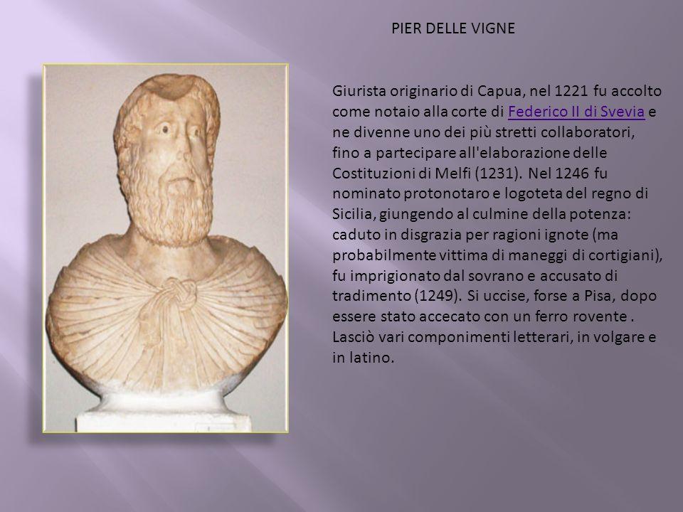 Giurista originario di Capua, nel 1221 fu accolto come notaio alla corte di Federico II di Svevia e ne divenne uno dei più stretti collaboratori, fino a partecipare all elaborazione delle Costituzioni di Melfi (1231).