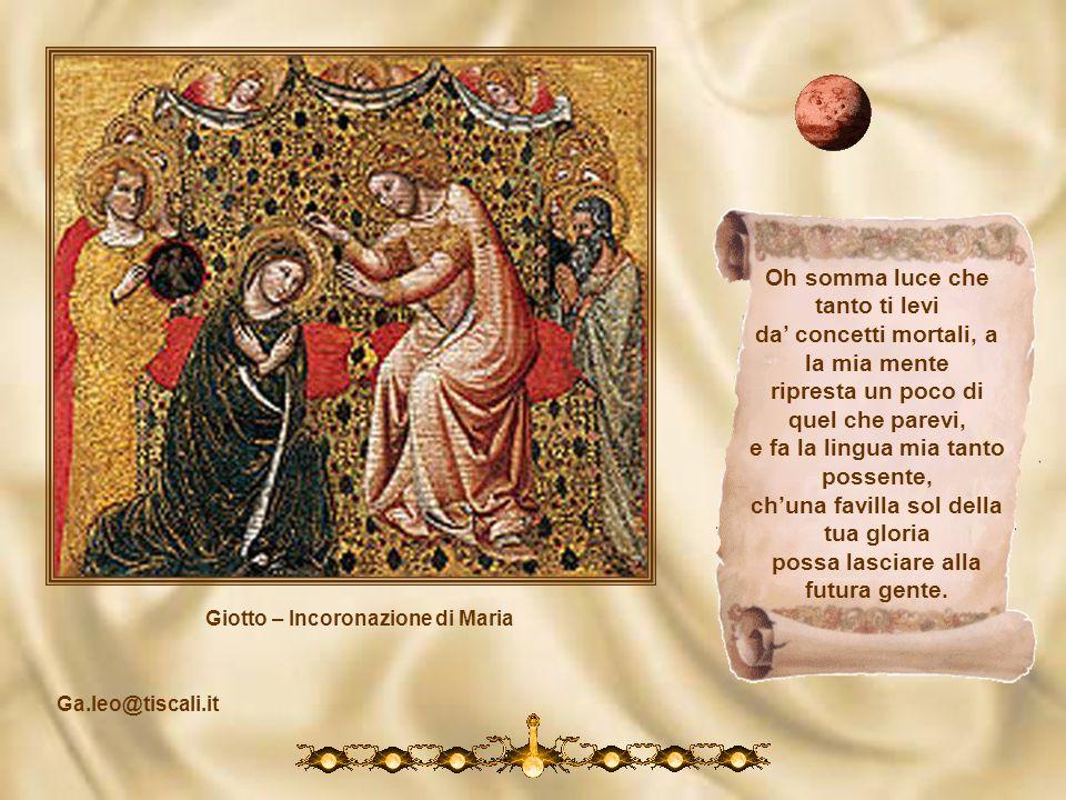 Giotto - Deposizione cotal son io, chè quasi tutta cessa mia visione, e ancor mi distilla nel core i dolce che nacque da essa. Così la neve al sol si