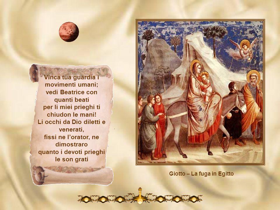 Giotto – Ladorazione dei Magi perché ogne nube li disleghi di sua mortalità co prieghi tuoi si che l sommo piacer li si dispieghi. Ancor ti priego, re