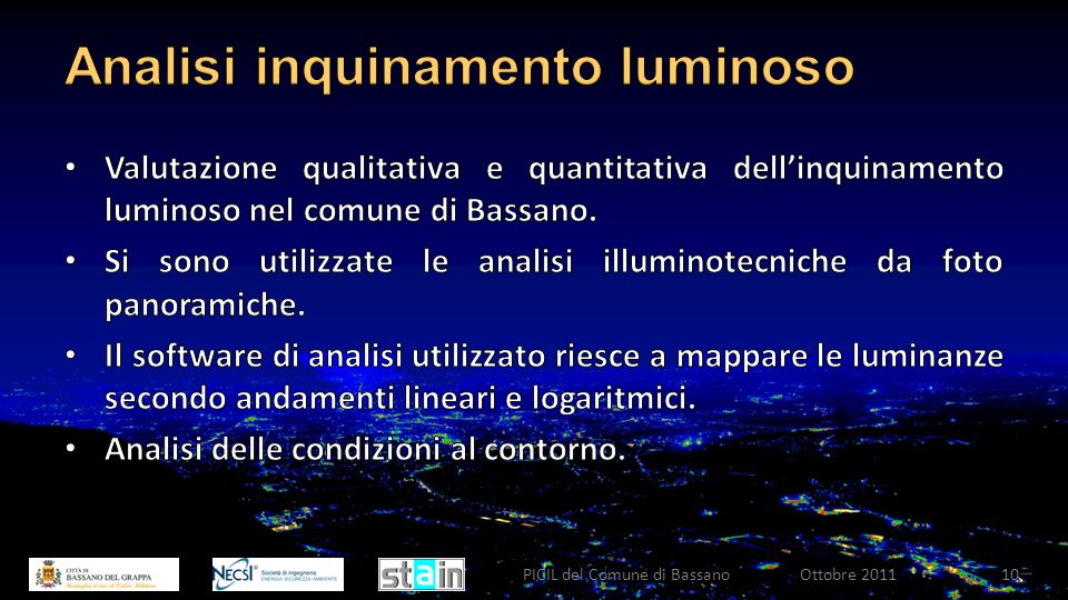 Ottobre 2011PICIL del Comune di Bassano10