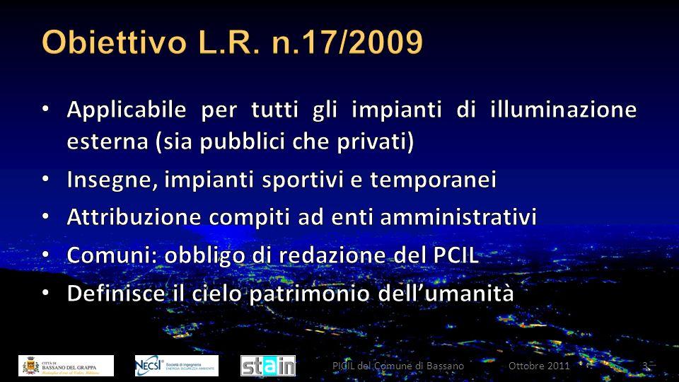 Ottobre 2011PICIL del Comune di Bassano3