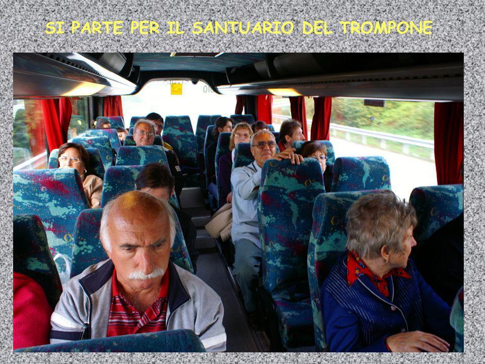 SI PARTE PER IL SANTUARIO DEL TROMPONE