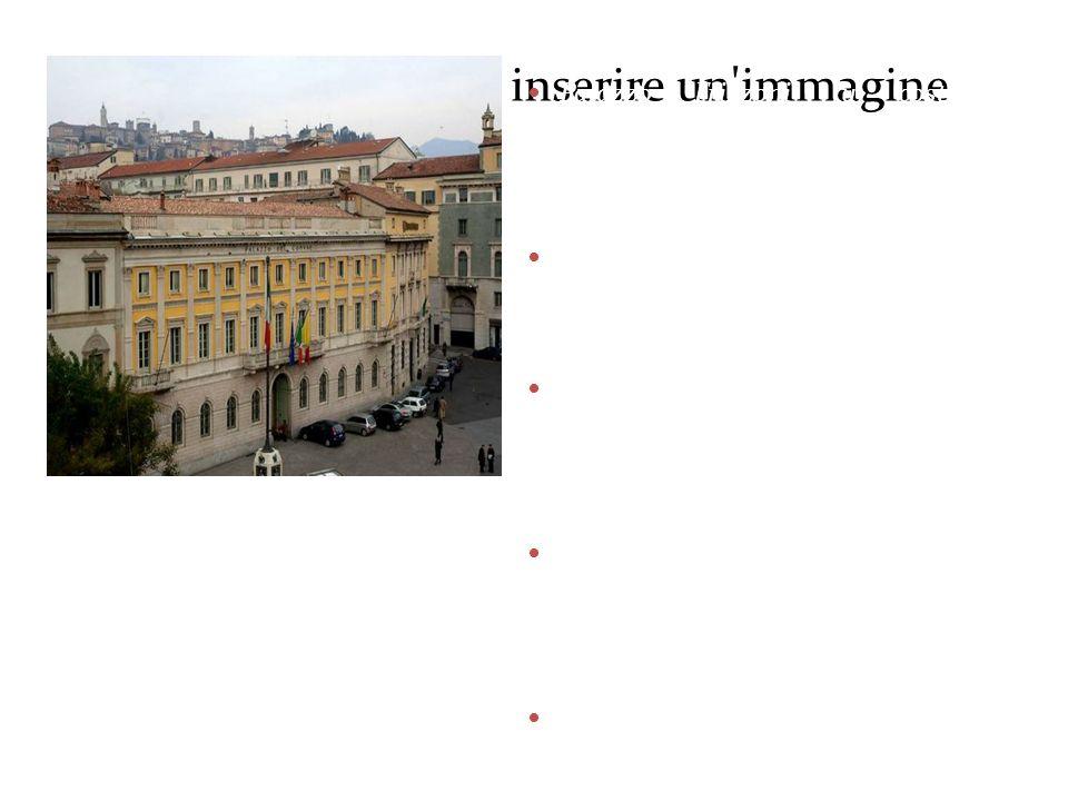 Fare clic sull'icona per inserire un'immagine Palazzo Frizzoni fu costruito dallarchitetto Vantini tra il 1833 e il 1840, per volontà della famiglia F