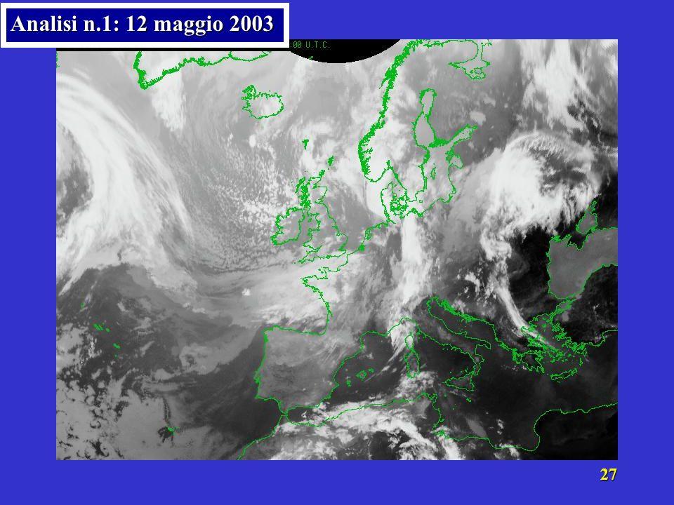 26 Analisi n.1: 12 maggio 2003