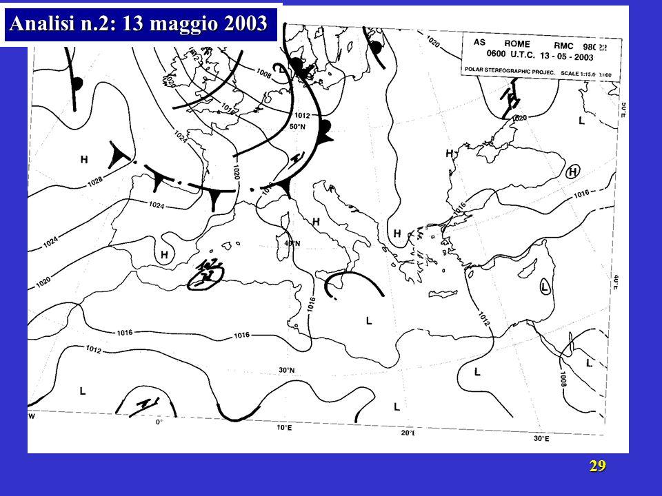 28 Analisi n.2: 13 maggio 2003