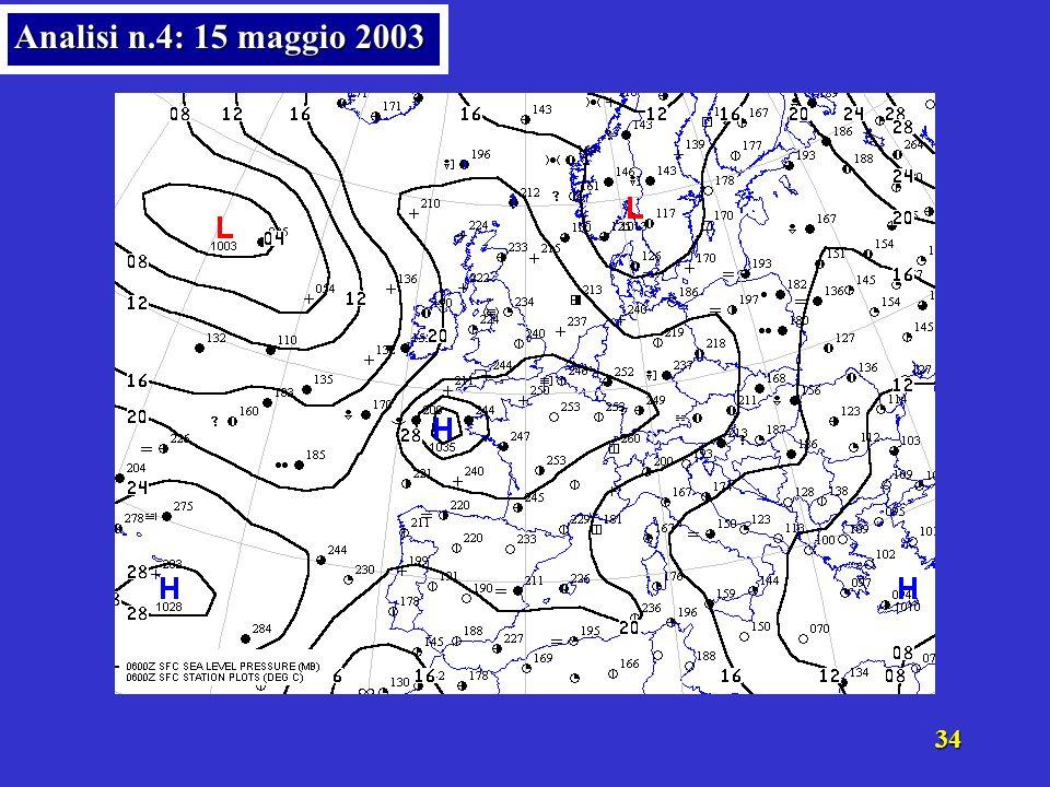 33 Analisi n.3: 14 maggio 2003
