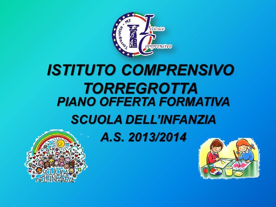 ISTITUTO COMPRENSIVO TORREGROTTA PIANO OFFERTA FORMATIVA SCUOLA DELLINFANZIA A.S. 2013/2014