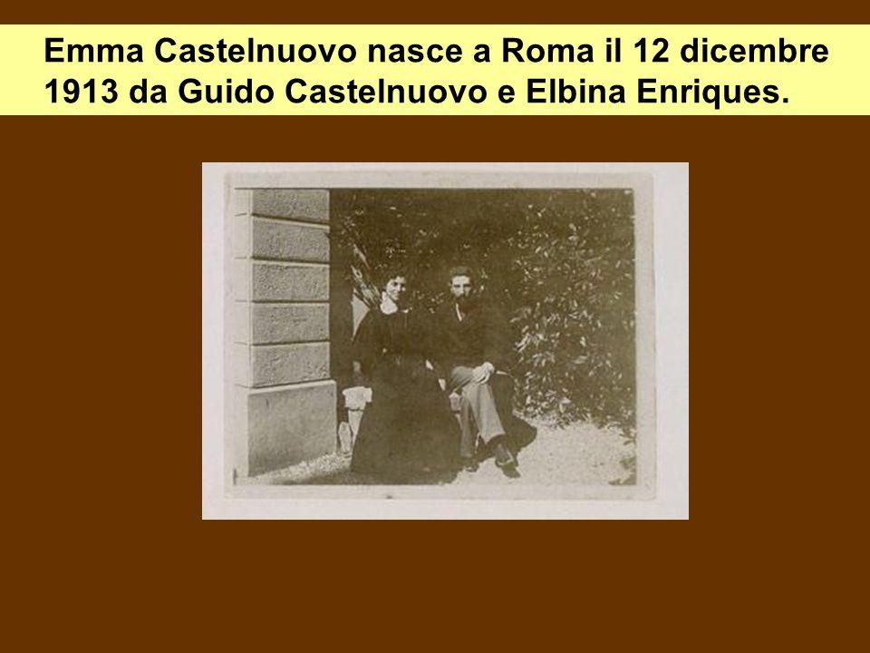 Nellautunno del 1943, con loccupazione tedesca, la famiglia Castelnuovo sfugge fortunosamente alla retata grazie a un commissario di polizia.
