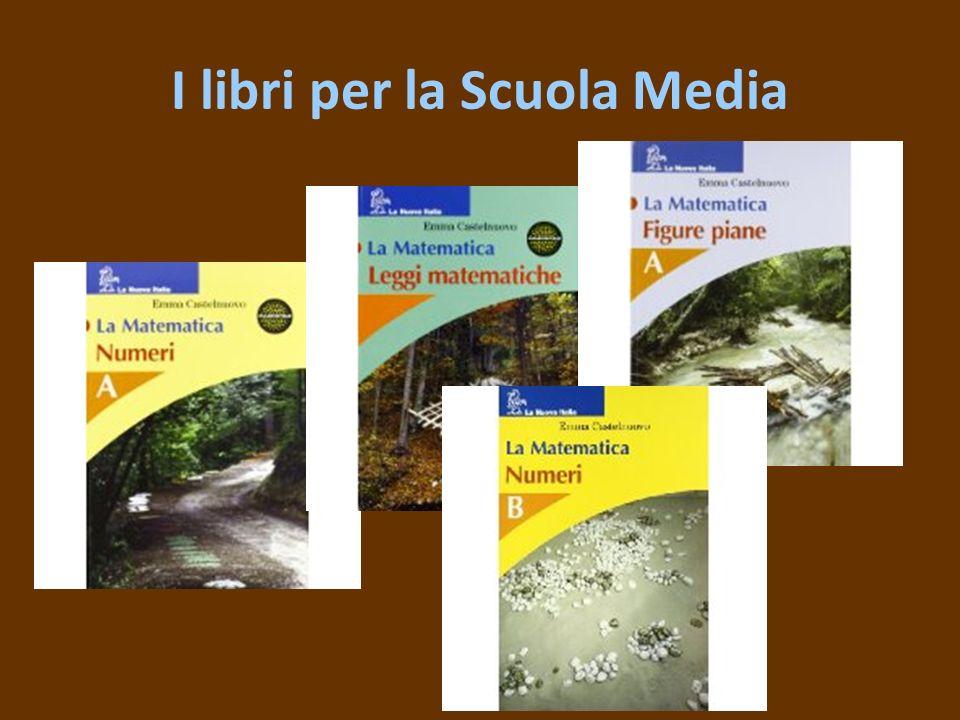 I libri per la Scuola Media