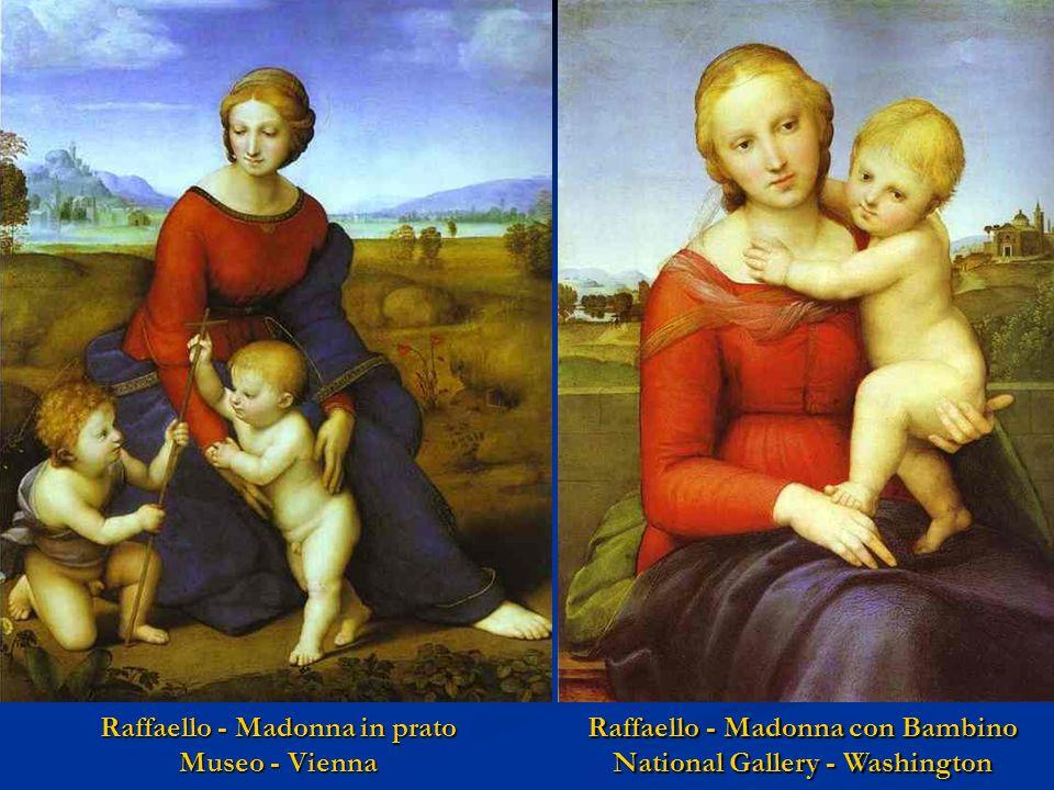 Perugino - Madonna con Bambino Pushkin Museo - Mosca Antonello da M. - Madonna con Bambino National Gallery - Washington