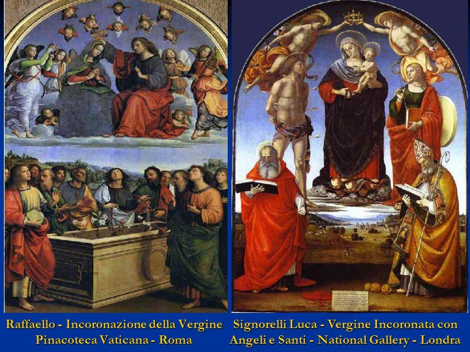 El Greco - Assunzione della Vergine Art Institute of Chicago Carracci - Assunzione della Vergine Maria Santa Maria del Popolo - Roma