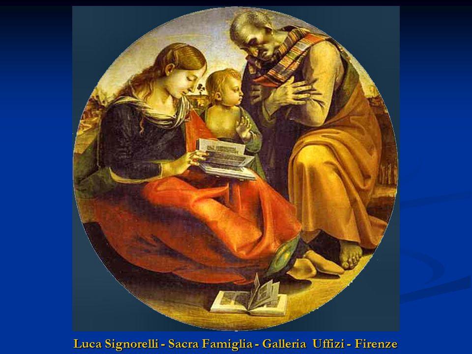 Luca Signorelli - Sacra Famiglia - Galleria Uffizi - Firenze
