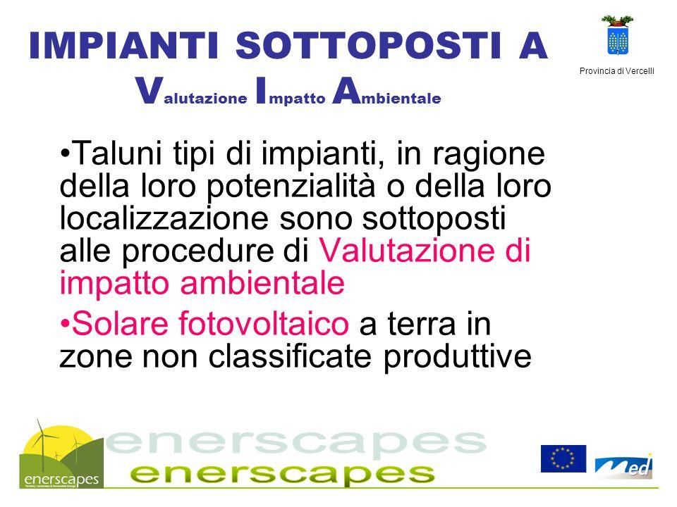 Provincia di Vercelli Informazione prima azione Deliberazione Giunta Provinciale n.