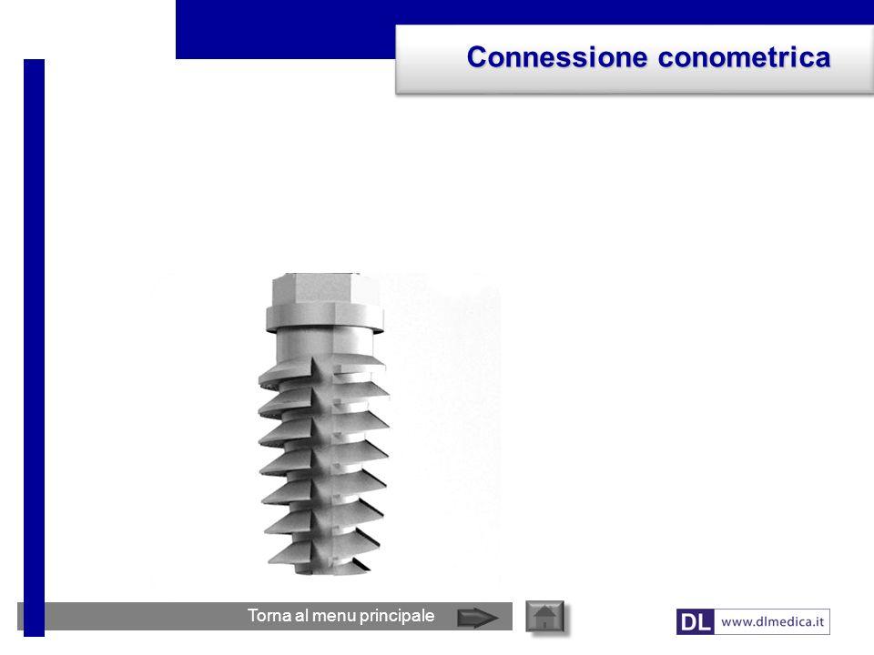 Connessione conometrica Torna al menu principale
