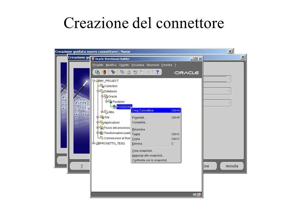 Creazione del connettore