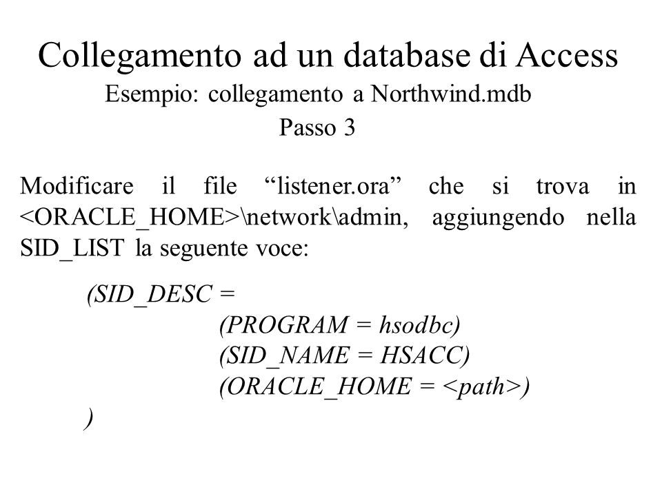 Oracle Discoverer Desktop: creazione report