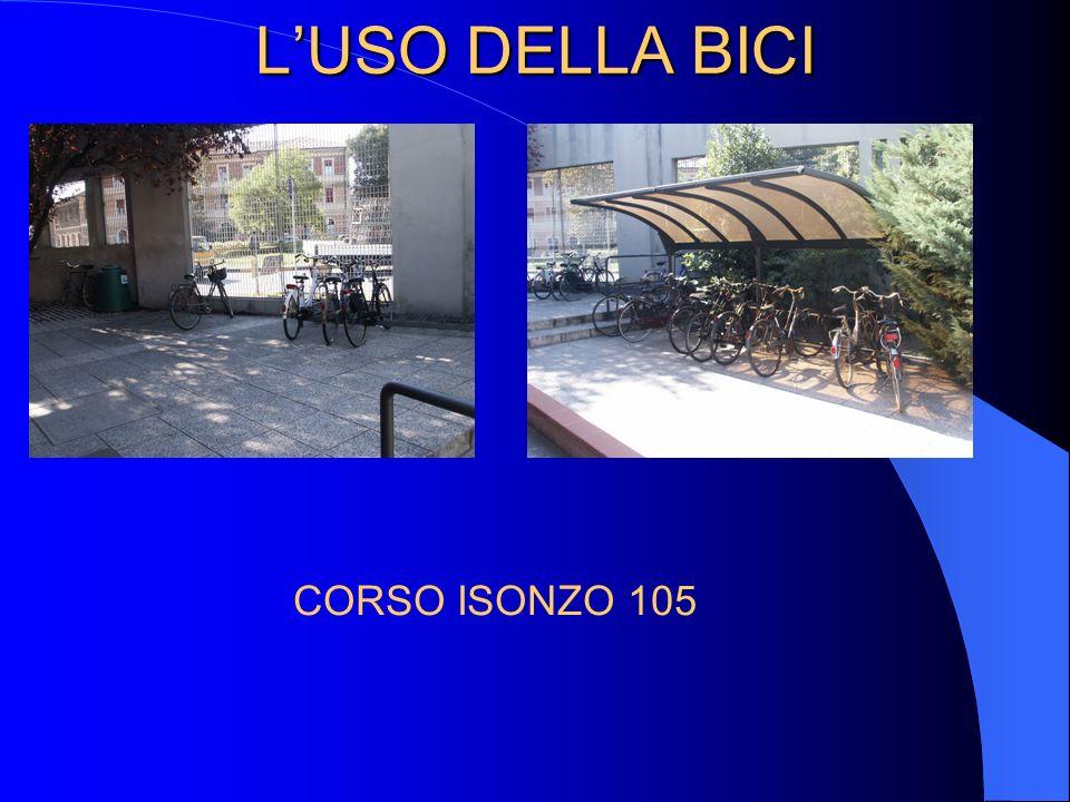 LUSO DELLA BICI CORSO ISONZO 105