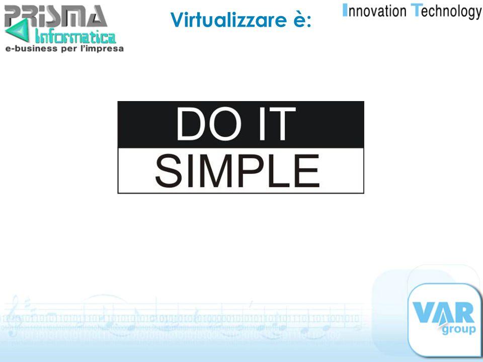 Virtualizzare è: