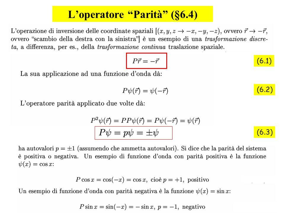76 Loperatore Parità (§6.4) (6.1) (6.2) (6.3)