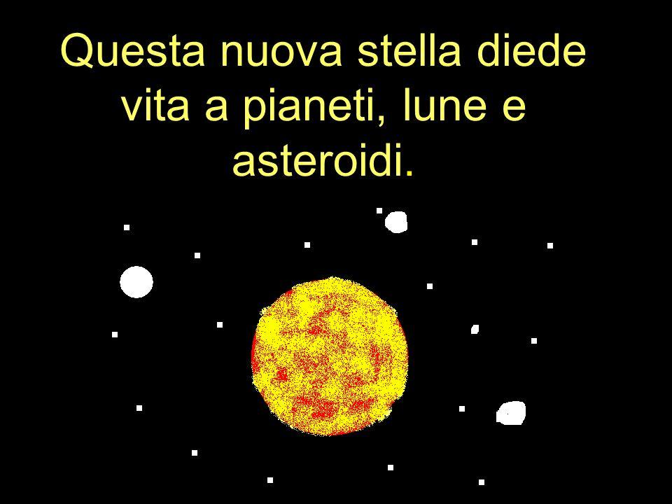5 miliardi di anni fa nacque la Terra: era una sfera incandescente.