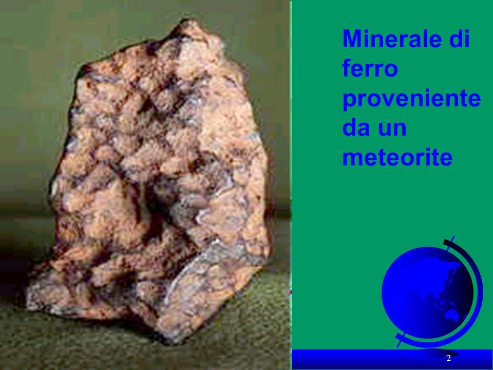 2 Minerale di ferro proveniente da un meteorite