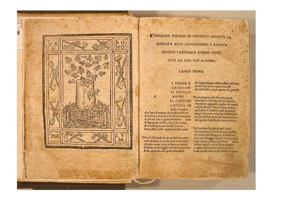 Orlando furioso (1516), cc.
