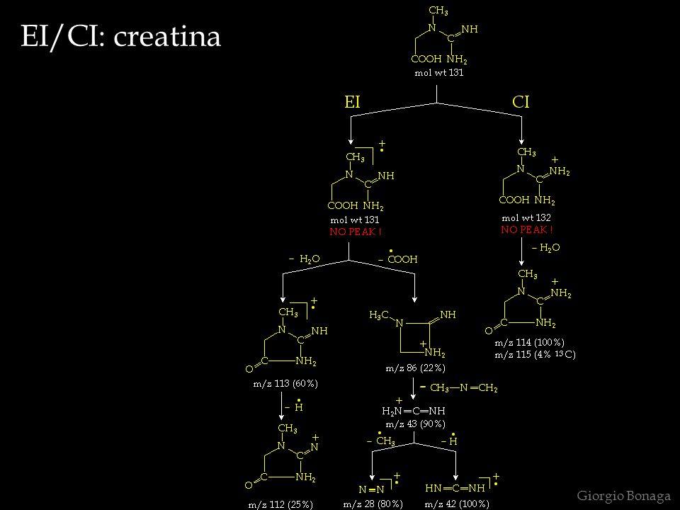 EI/CI: creatina