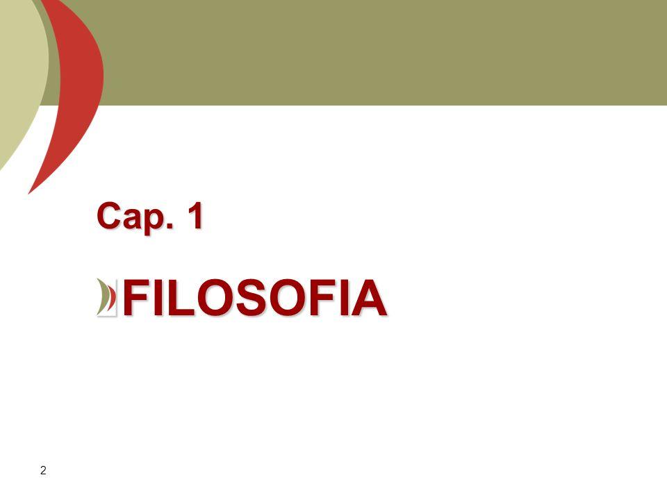 2 Cap. 1 FILOSOFIA