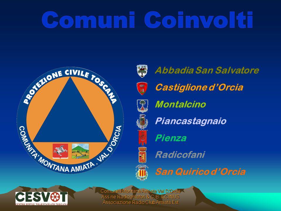 Abbadia San Salvatore Castiglione dOrcia Montalcino Piancastagnaio Pienza Radicofani San Quirico dOrcia