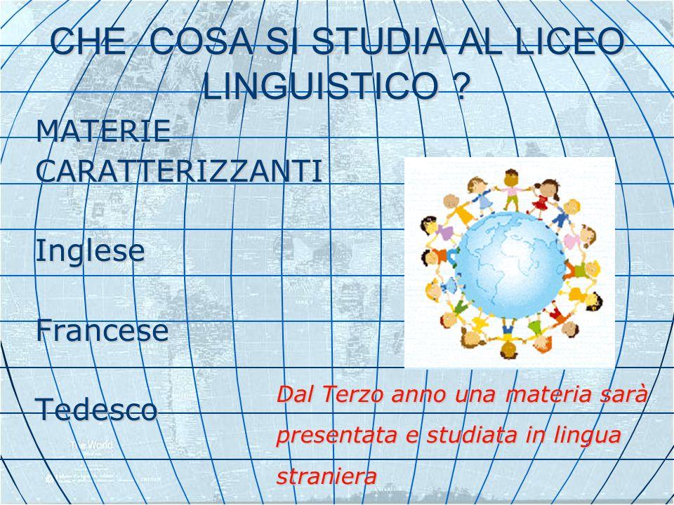 COME SI STUDIA AL LICEO LINGUISTICO ? CON IL SUPPORTO DI CONVERSATORI MADRELINGUA