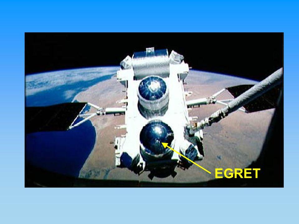 30 MeV-30 GeV (1.8 tons) Spark chamber TOF Calorimeter (NaI)