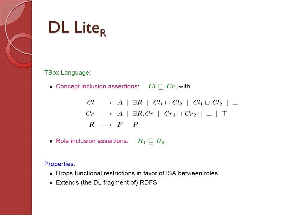 DL Lite R