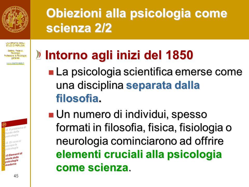 UNIVERSITÀ DEGLI STUDI DI PERUGIA Stefano Federici Psicologo Professore di Psicologia generale www.cognitivelab.it UNIVERSITÀ DEGLI STUDI DI PERUGIA S