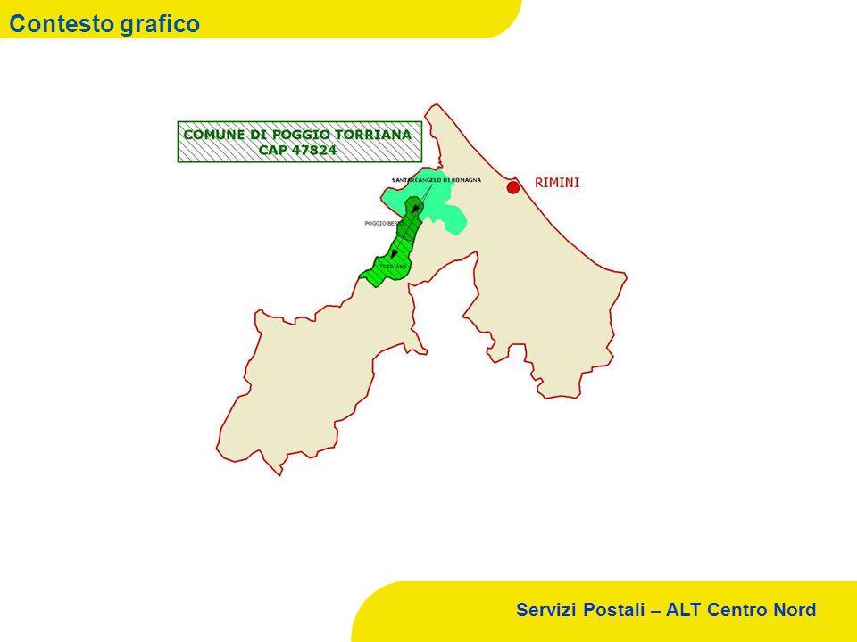 Servizi Postali – ALT Centro Nord Contesto grafico