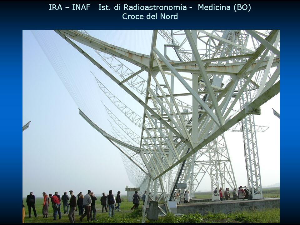 IRA – INAF Ist. di Radioastronomia - Medicina (BO) Croce del Nord