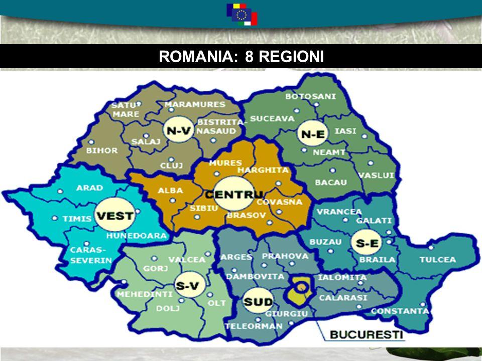 ROMANIA: 42 judetze