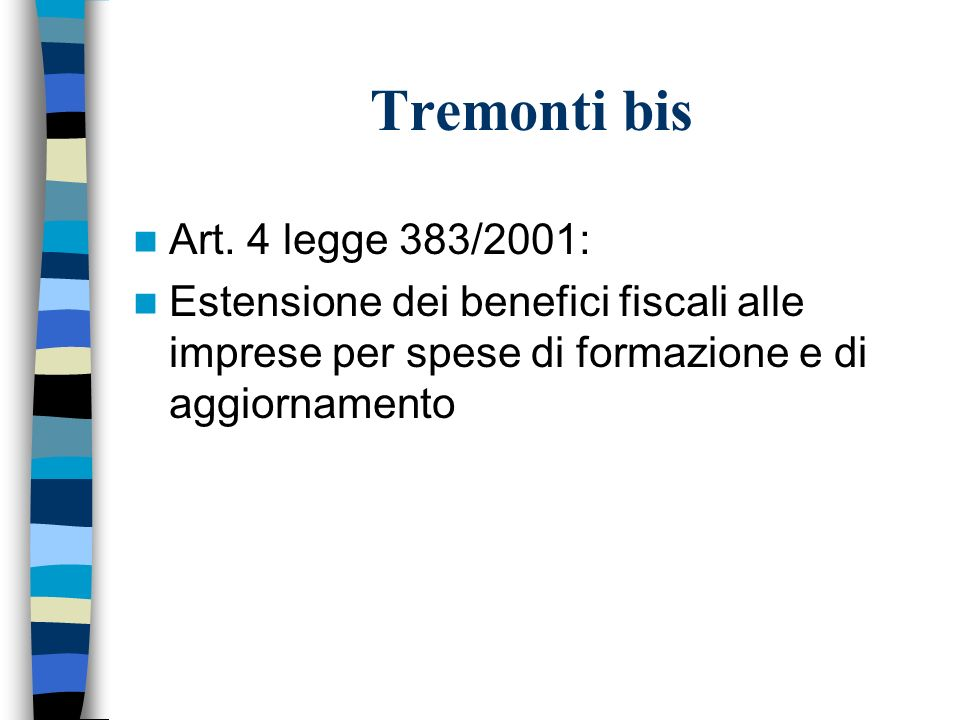 Tremonti bis Art.