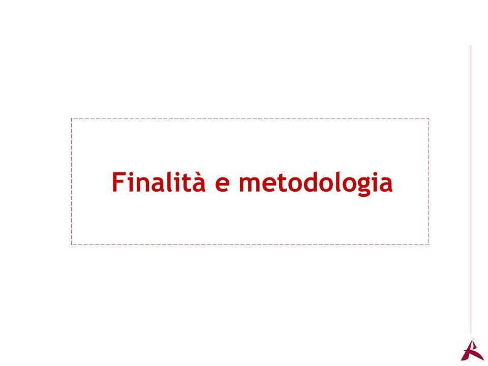 Titolo dellargomento Finalità e metodologia