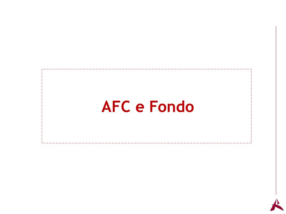 Titolo dellargomento AFC e Fondo