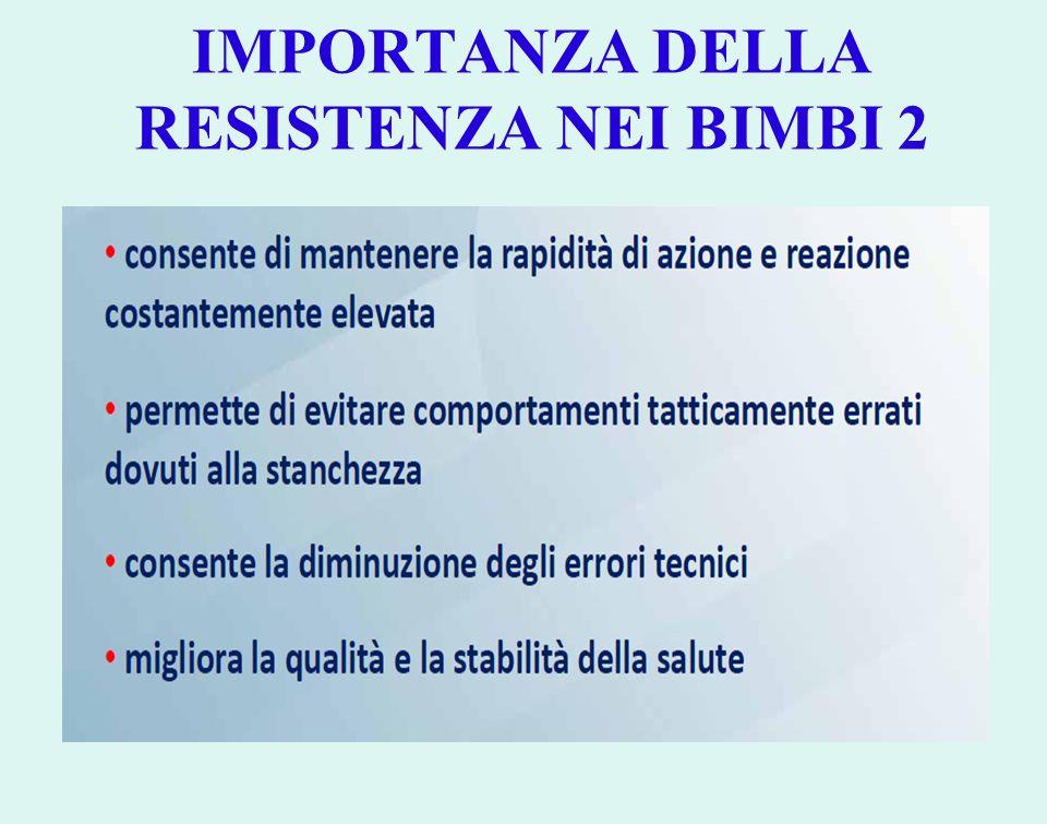 IMPORTANZA DELLA RESISTENZA NEI BIMBI 2