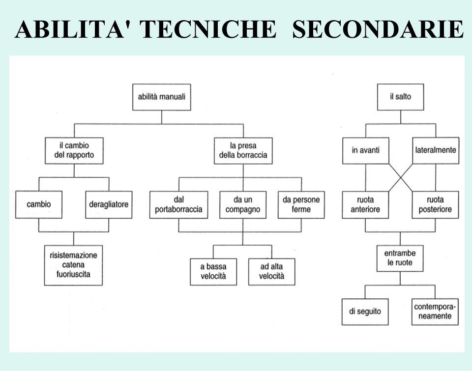 ABILITA' TECNICHE SECONDARIE