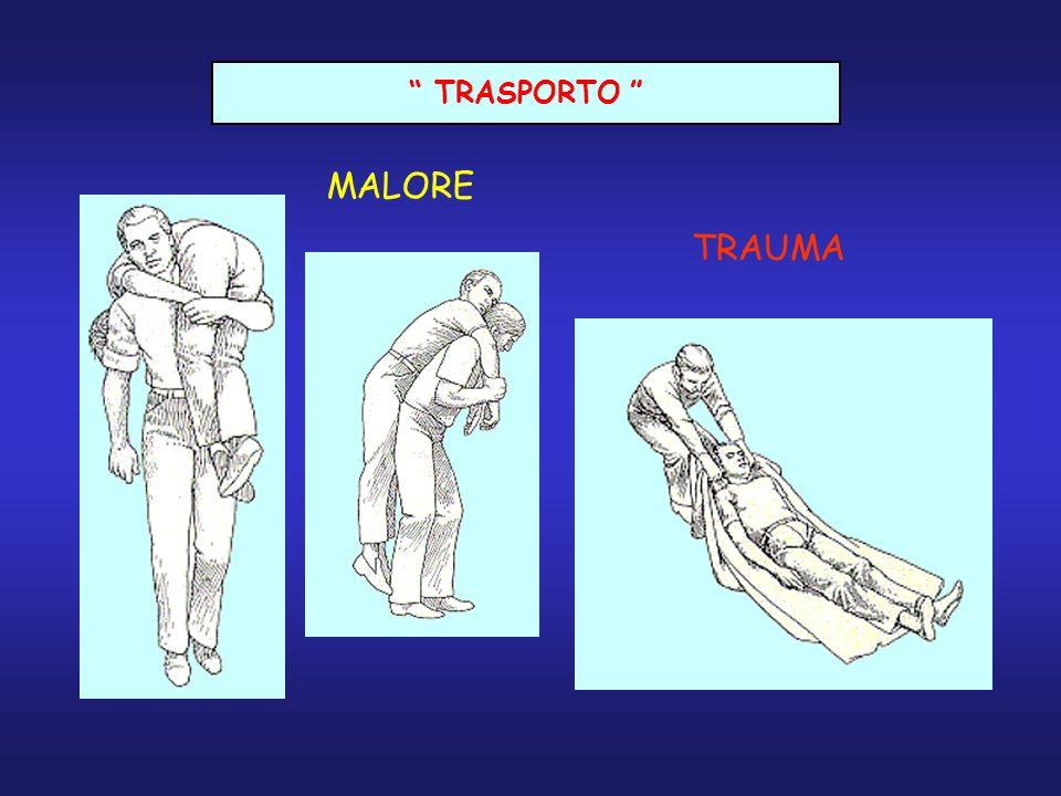 TRASPORTO TRAUMA MALORE