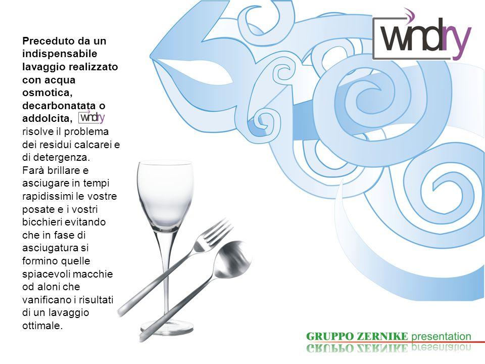 WINDRY per bicchieri e posate